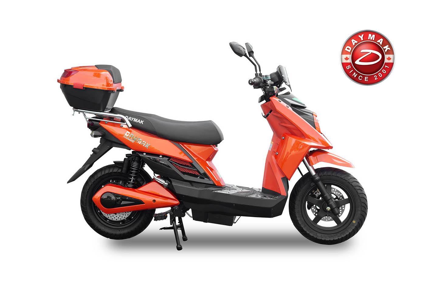 scooter electrique ARROW Daymak orange -logo-daymak
