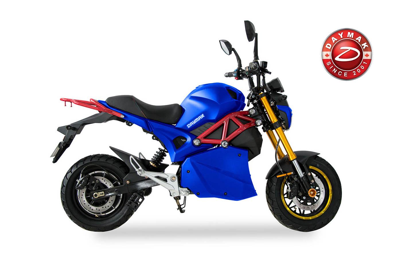 scooter electrique ROGUE Daymak bleu-logo-daymak