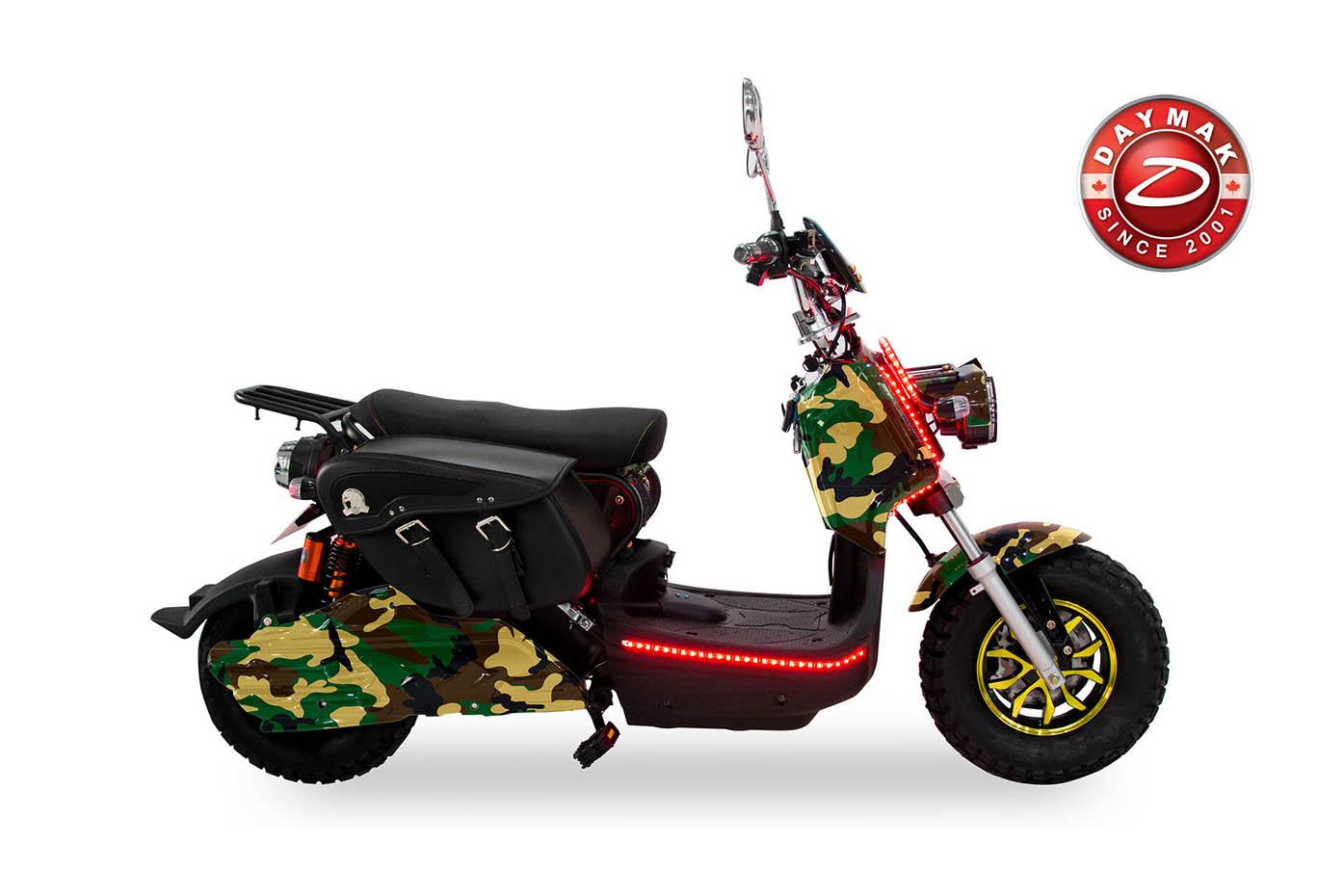 scooter electrique eagle deluxe Daymak CAMO- logo-daymak